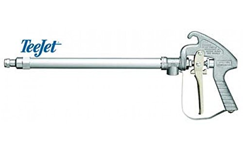 TeeJet AA43L-AL6 Spray Gun, 1/2'' NPT or BSPT (F) inlet connections, 1/2'' NPT (F) outlet - Brass, 200 psi, 22 '' Length, Aluminum by TeeJet