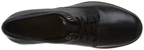 Leather black Scarpe Nero Derby Donna Stringate Frida Clarks g610xw70