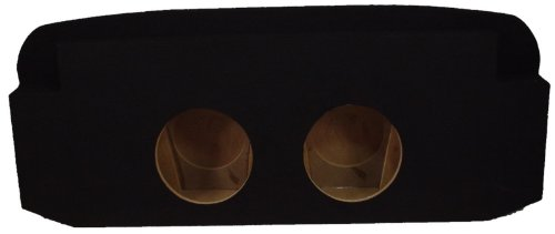 ASC Chevy Avalanche or Cadillac Escalade EXT 2002-2013 Dual 12'' Subwoofer Custom Fit Behind Seat Sub Box Speaker Enclosure