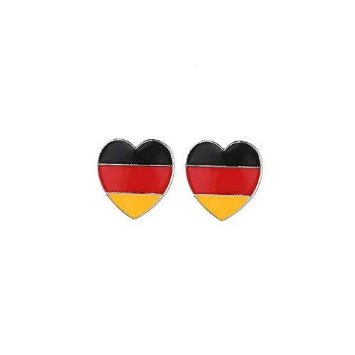 (Campton 2018 Brand New Sweet Heart Pendant Ear Stud Statement Earrings Fashion Jewelry   Model ERRNGS - 20720   )