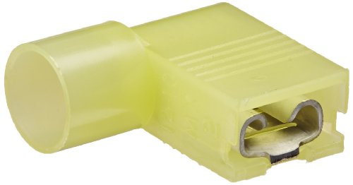 NSi Nylon Insulated Flag Terminal, Small Packs, 12-10 Wire Size, 0.250