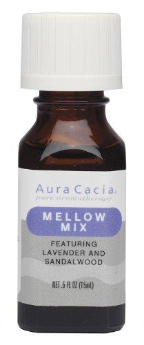 Aura Cacia Essential Solutions Oil Blend, Mellow Mix, 0.5 fl