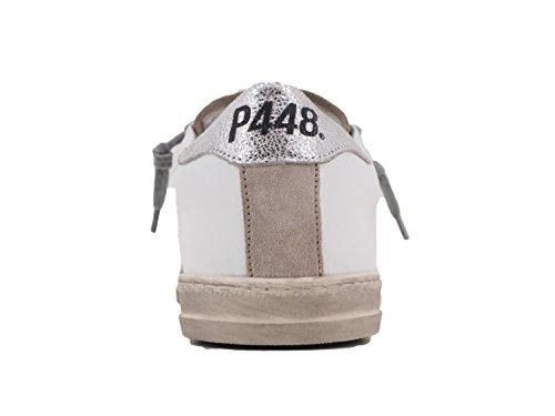 P448 Baskets pour femme Blanc Bianco