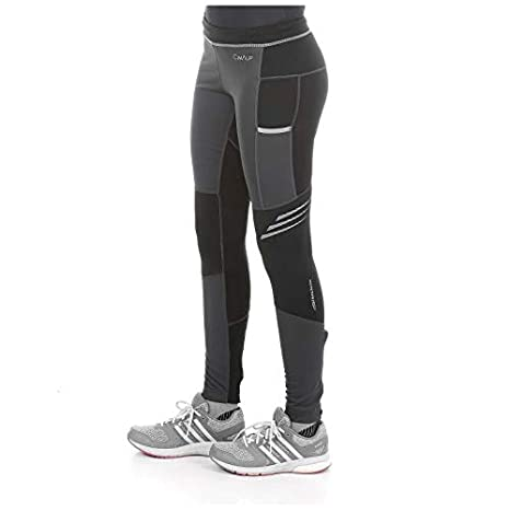 Cimalp Winter Tight F Pantalon de Trail Running Chaud et Coupe Vent