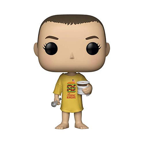 Funko 35057 Pop Vinilo Stranger Things Once en Burger tee, Multi