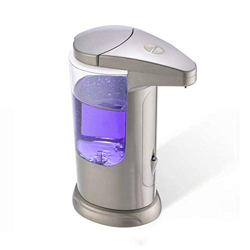 Kidun 400ml/15.7oz Touchless Soap Dispenser High Capacity Electric Automatic Sensor Soap Dispensers...
