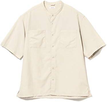 /半袖シャツ Breathable Band collar Shirt メンズ