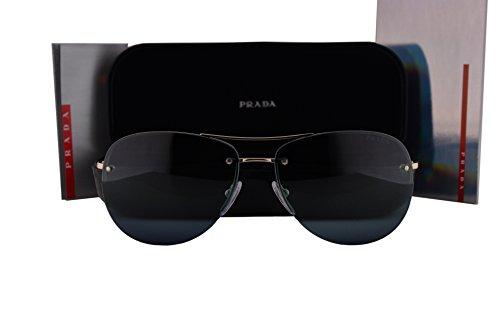 Prada PS50RS Sunglasses Pale Gold w/Blue Gradient Lens 59mm ZVN5T2 SPS50R PS 50RS SPS - Foxx Amazon Sunglasses Jamie
