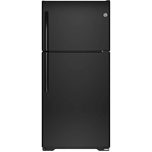 Ge Black Top Freezer Refrigerator - 7
