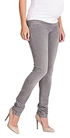 Seraphine Angelina Skinny Luxe Maternity Jeans - Grey at Amazon ...