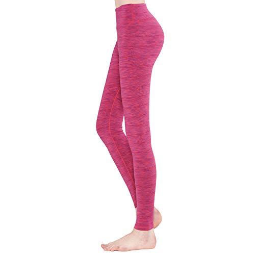 Zeronic Women's Yoga Pant Running Workout Leggings Tummy Control High Waist Gym Running Tights