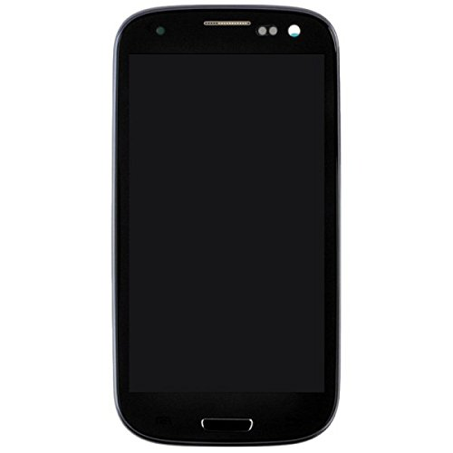 LCD, Digitizer & Frame Assembly for Samsung Galaxy S III i747, T999 (Midnight Blue with Pebble Blue Frame) (Aftermarket - Without Samsung Logo) with Glue Card