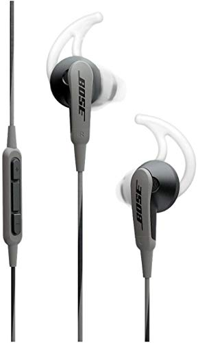 Bose SoundSport in-ear headphones for Samsung and Android devices, Charcoal (Ear Headset Inner)