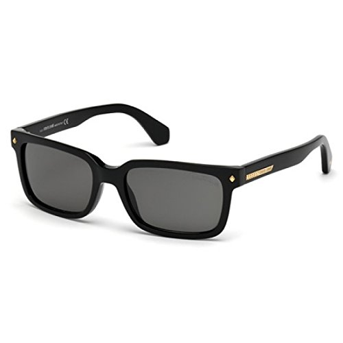 Roberto Cavalli for man rc834s - 01A, Designer Sunglasses Caliber 56 by Roberto Cavalli