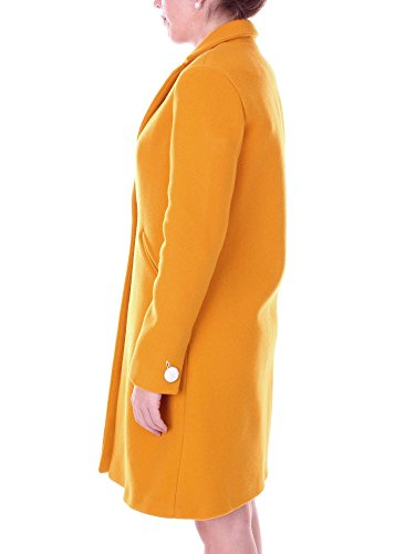 157949a7245 Alysi uk 38 Women Mustard Amazon Clothing Overcoat co d0wZr0