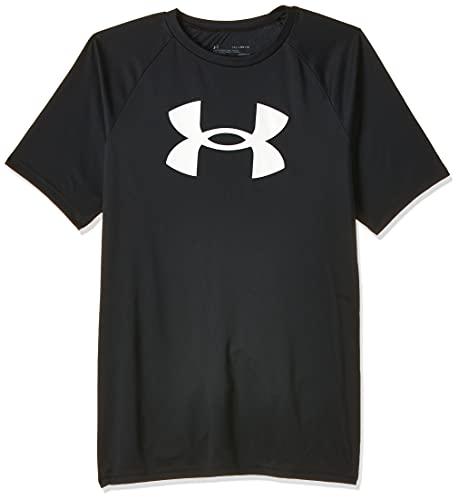 Under Armour Boys' Tech Big Logo Short-Sleeve
