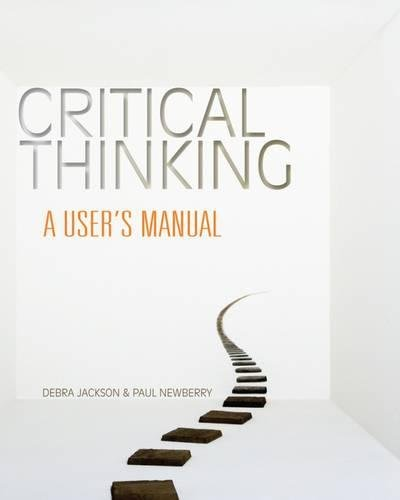critical thinking an introduction to analytical reading and reasoning After i was exposed to critical thinking in high school and university,  look no  further than critical reasoning for beginners, the top rated  follow him at @ iliablinderman, or read more of his writing at the huffington post.
