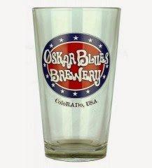 Oskar Blues Brewery Pint Glass