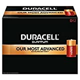 Duracell(R) Quantum Alkaline D Batteries, Pack of 12