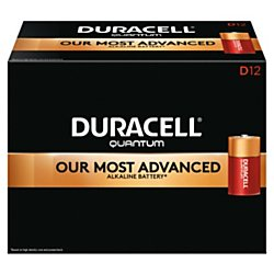 Duracell(R) Quantum Alkaline D Batteries, Pack of 12 by Duracell