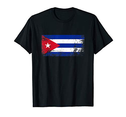 Cuban National flag vintage gift T-Shirt