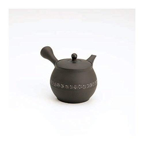 TOKYO MATCHA SELECTION - Tokoname kyusu - SEKIRYU (350cc/ml) ceramic mesh - Japanese teapot [Standard ship by Int'l e-packet: with Tracking & Insurance]