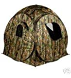 Riverside Outdoor Camo Protector 2 Pop Up Hide Decoying Photography Tent