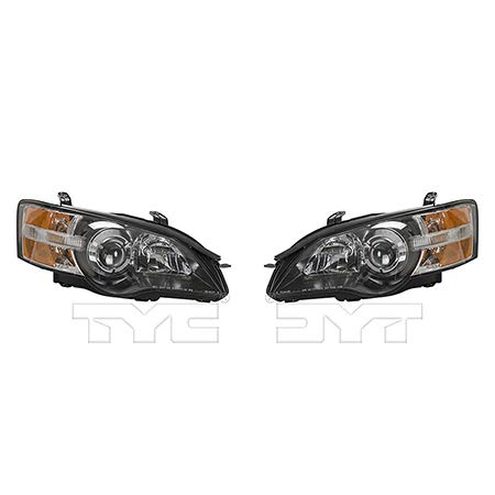 (CarLights360: Fits 2005 Subaru Outback Headlight Assembly Driver and Passenger Side NSF Certified w/Bulbs - Replaces SU2502116 SU2503116)