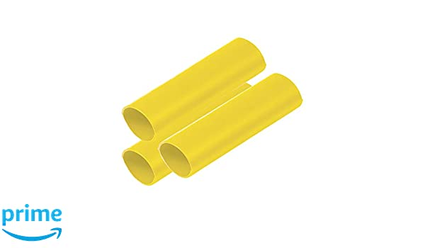 "Marine Grade Heat Shrink Heavy Wall Battery Cable Tubing 3//4/"" x 3/"" 3pc Black"