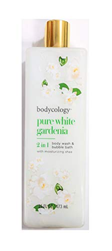(Bodycology Foaming Body Wash, Pure White Gardenia 16 oz (pack of 2))