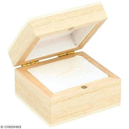 Ring-Box aus Holz 'Artemio' 5.1 x 4.7 x 3.2 cm