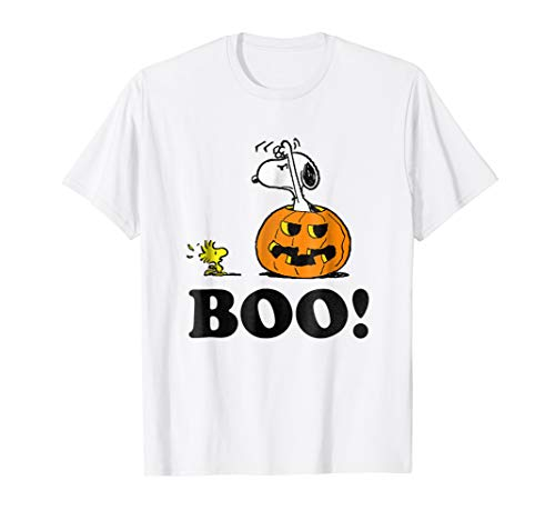Peanuts Halloween Snoopy Woodstock BOO! T-Shirt for $<!--$19.99-->