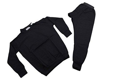 RJS Racing Equipment SFI 3.3 FR Underwear 2 PC Set Size XL Black