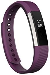 Fitbit Alta Fitness Tracker, Silver/Plum, Small (5.5 or 6.7 Inch) (US Version)