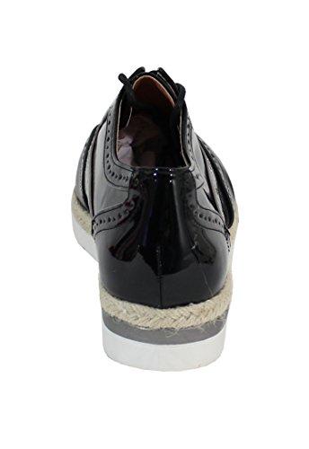 By Shoes - Zapatos de cordones para Mujer Noir