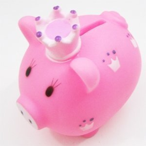 little princess piggy bank