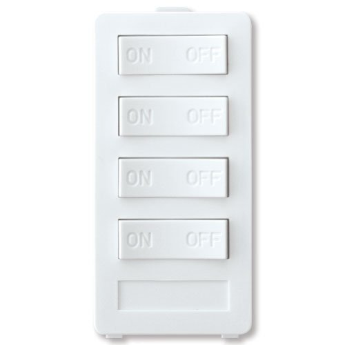 X10 PRO XP4-W-NS New Style 4 Button Keypad - White -