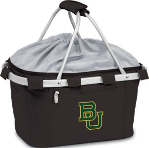 Metro Embroidered Basket (NCAA Baylor Bears Embroidered Metro Basket, One Size, Black)