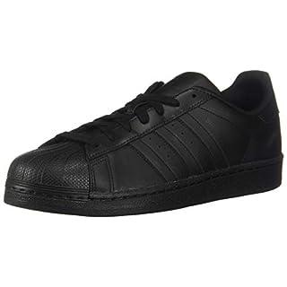 adidas Originals Men's Superstar Shoe Running, Black, 7 M US