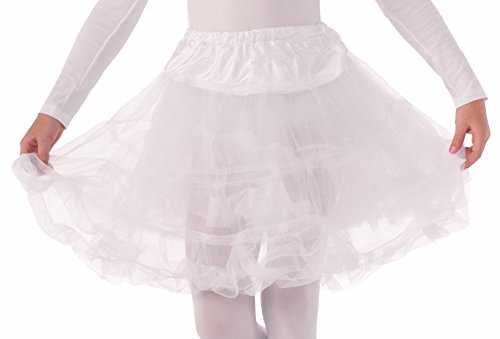 (Forum Novelties Child Size White Crinoline Petticoat Tutu Skirt)