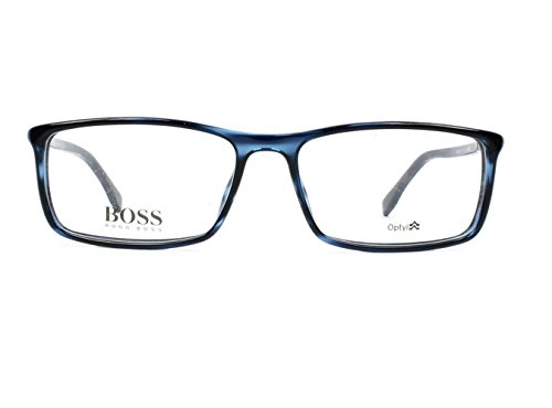 Lunettes de Vue Hugo Boss BOSS 0680 BLUE HAVANA homme
