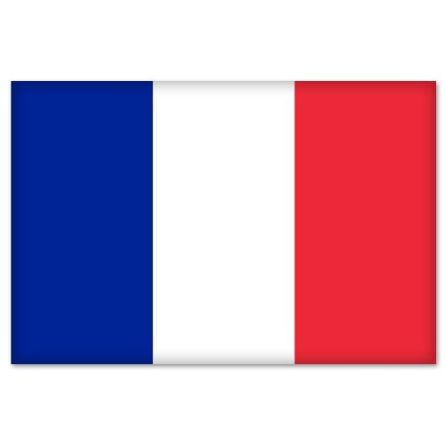 France French Flag Car Bumper Sticker Decal 6