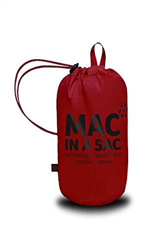 Mac In Sac Origine Unisex Lava Giacca Packaway Impermeabile Rossa COHCn1WS
