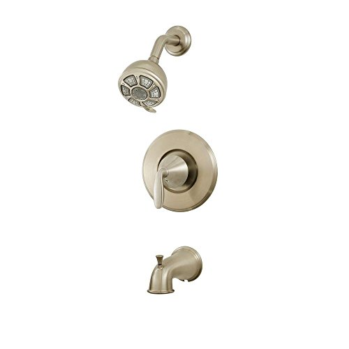 Pfister Brushed Nickel Waterfall Faucet Pull Down Brushed