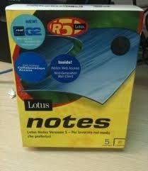 Lotus Notes R5 Software