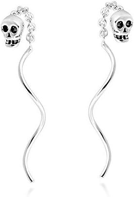 Thread Spiral Sterling Silver Earrings