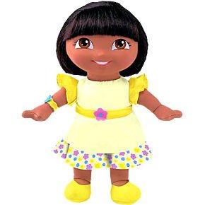 Amazon.com: DORA EXPLORER Stylish Scents Lemon Drop Doll: Toys & Games