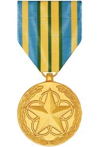 Medals of America Outstanding Volunteer Service Medal Anodized