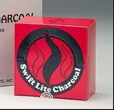 - Swift Lite Brand Quick Lighting Long Lasting Incense Burner Charcoal Briquette Tabs - 80 Per Box