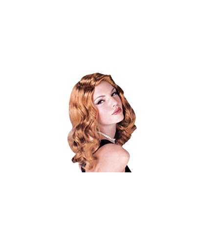 Sexy Screen Siren Wig - Auburn (Brown Wig Siren)